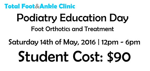 Paypal - Podiatry Education Day - Student discount