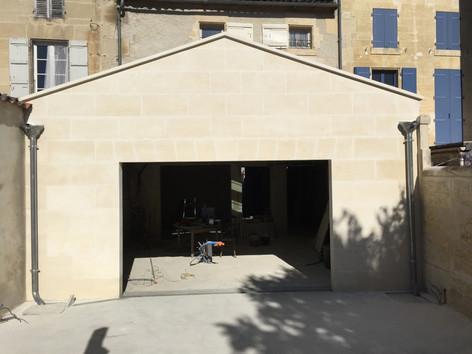 Vue extérieure de la façade