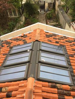 Charpente, couverture et fenêtres de toit
