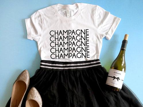 Champagne Champagne Champagne Shirt | New Years Eve Shirt