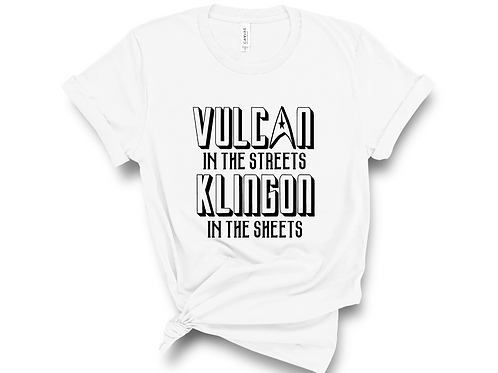 Vulcan in the Streets Shirt. Trek Theme Shirt