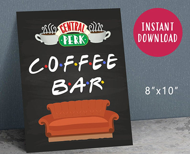 Set up your own Central Perk!