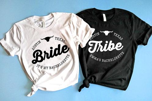 Customizable Texas Bachelorette Shirts | Be Everthine