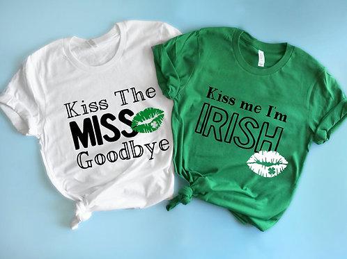 Bachelorette Party Shirts | Kiss the Miss Goodbye