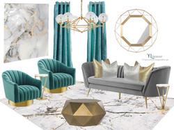 Finish Board concept 2 Living Room