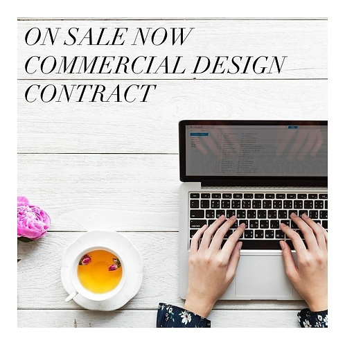 COMMERCIAL INTERIOR DESIGN CONTRACT