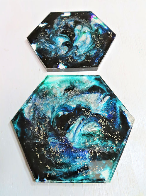 Starry Night  (Special Edition) Modern Art Coaster Set