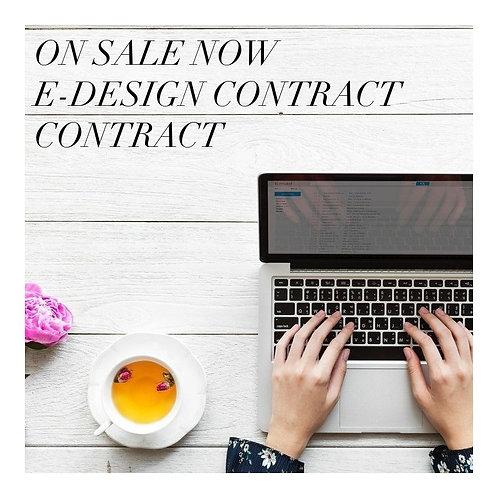 E-DESIGN CONTRACT