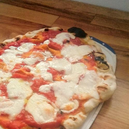 PIZZA MARGHERITA SUR LE GRILL