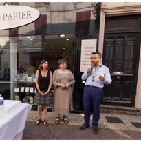 Inauguration_Jardin de Papier le 5  juillet 2019