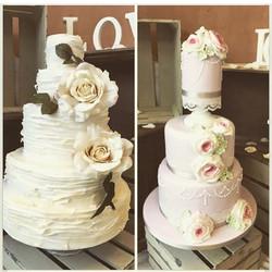 #wedding #weddingcake #cake #cheshire #altrincham #libbygcakes #handmade #sugarcraft #sugarart #cake