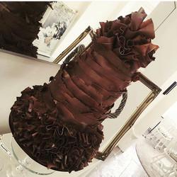 Chocolate chocolate chocolate 😋 #cakestagram #cakesofinstagram #cakesmash #cakedecorating #picofthe