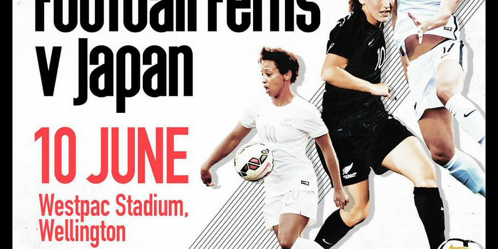 NZ Football Ferns vs Japan