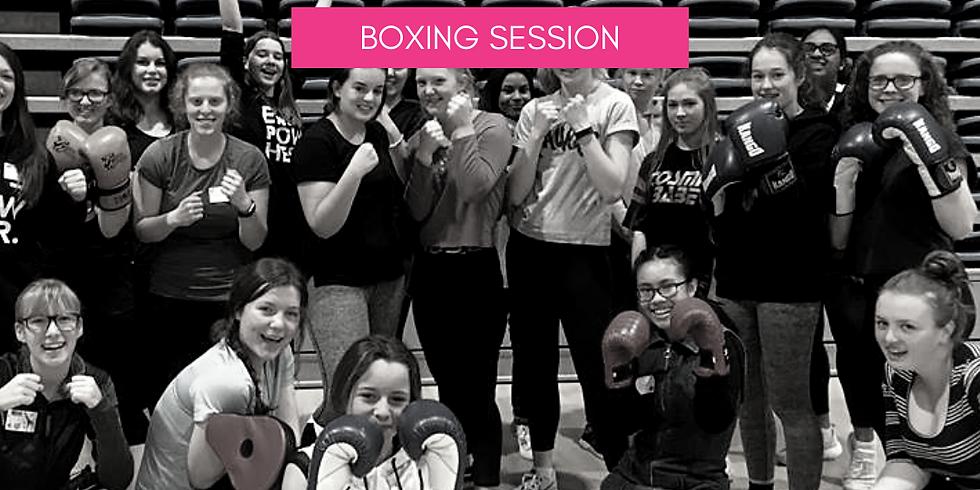 Boxing Session // Senior LeadHERship