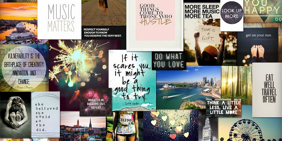 Goal Setting and Vision Boarding // Upper Hutt