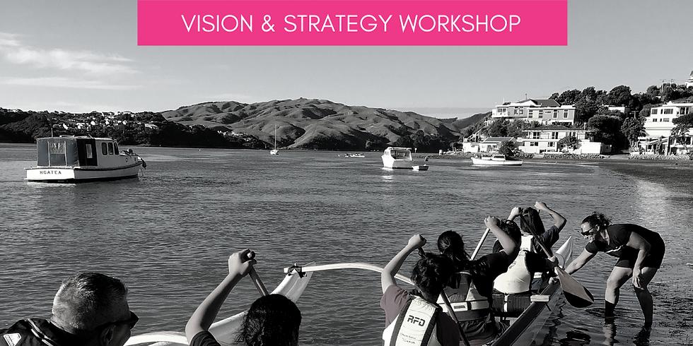 Vision and Strategy Workshop // Senior LeadHERship
