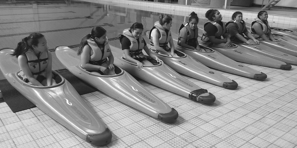 Kayaking, diving, surfing at the pool