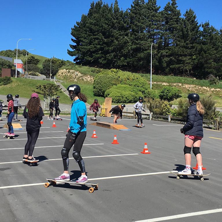 Skateboarding Session