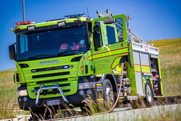 2019-10-22 Firetrucks and Burning Furnit