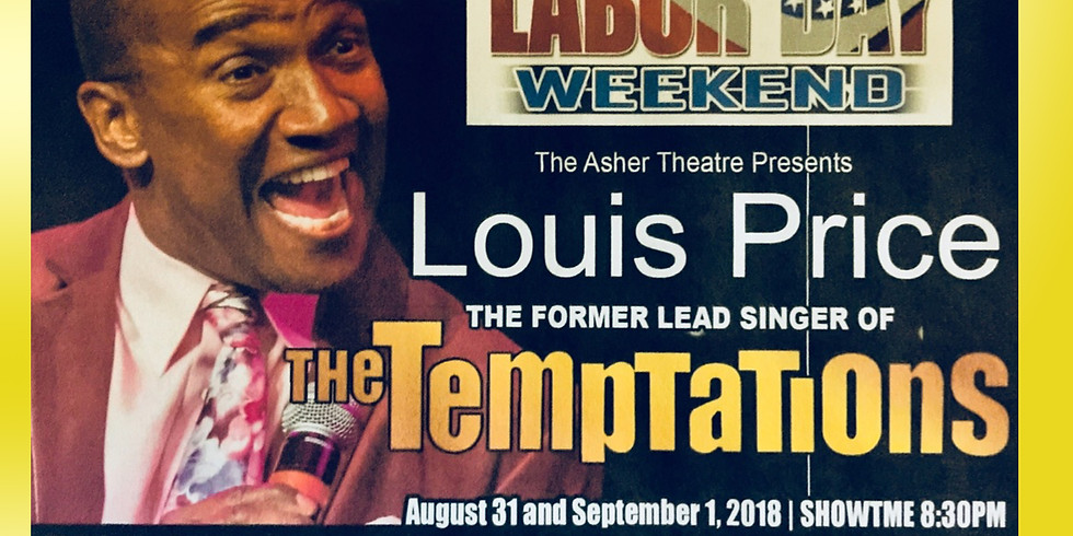 Louis Price Labor Day Weekend Jam