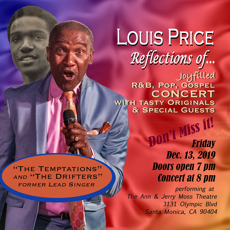 """Louis Price """"Reflections of..."""" 2019 Concert"""