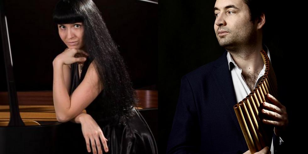"Abgesagt! Konzert ""Romances"" - Marina Vasilyeva (Klavier) und Hanspeter Oggier (Panflöte)"