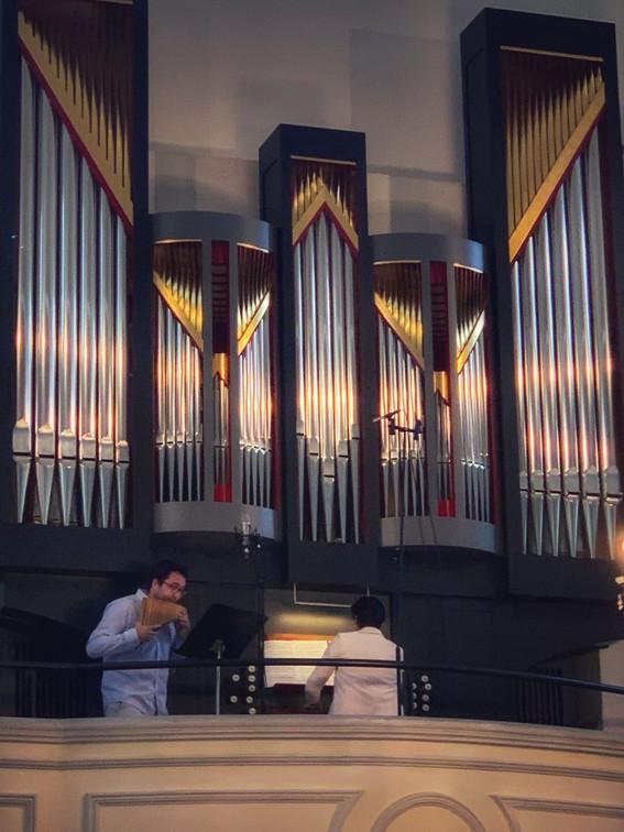 Videoaufnahmen auf der Goll-Orgel, Dreikönigskirche Visp, 16.8.2020