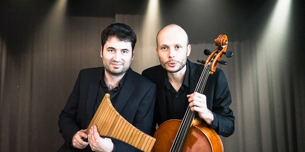 Leider ABGESAGT: Duo Rythmosis - Duo Bouclier