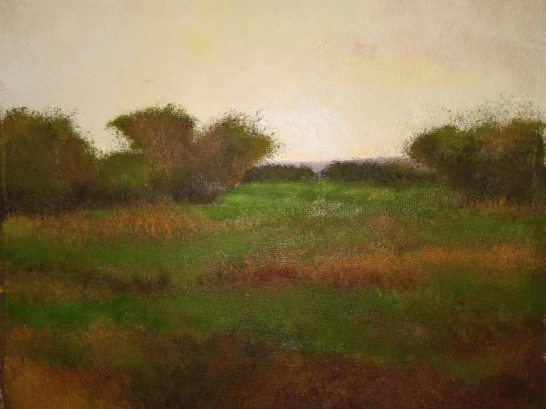 Field of Greens  8x10  $250.00