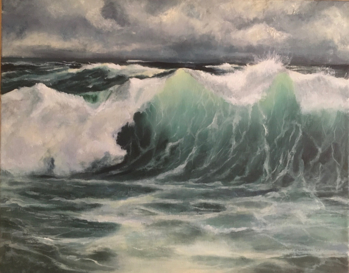 Waves of life, Oils 16x24 Sold