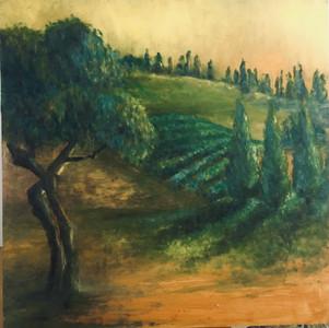Intimacy, Oils on Birch, 15x15 NFS