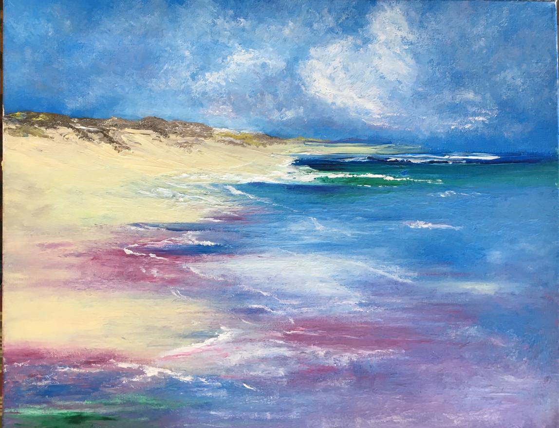 Swept Away, 16x24, Oils on Canvas, $600