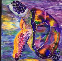Turtle from Mala - Rainbow