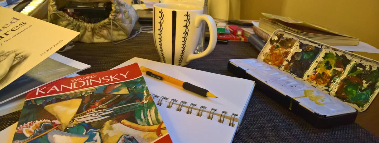 Saturday Morning Reading Kandinsky