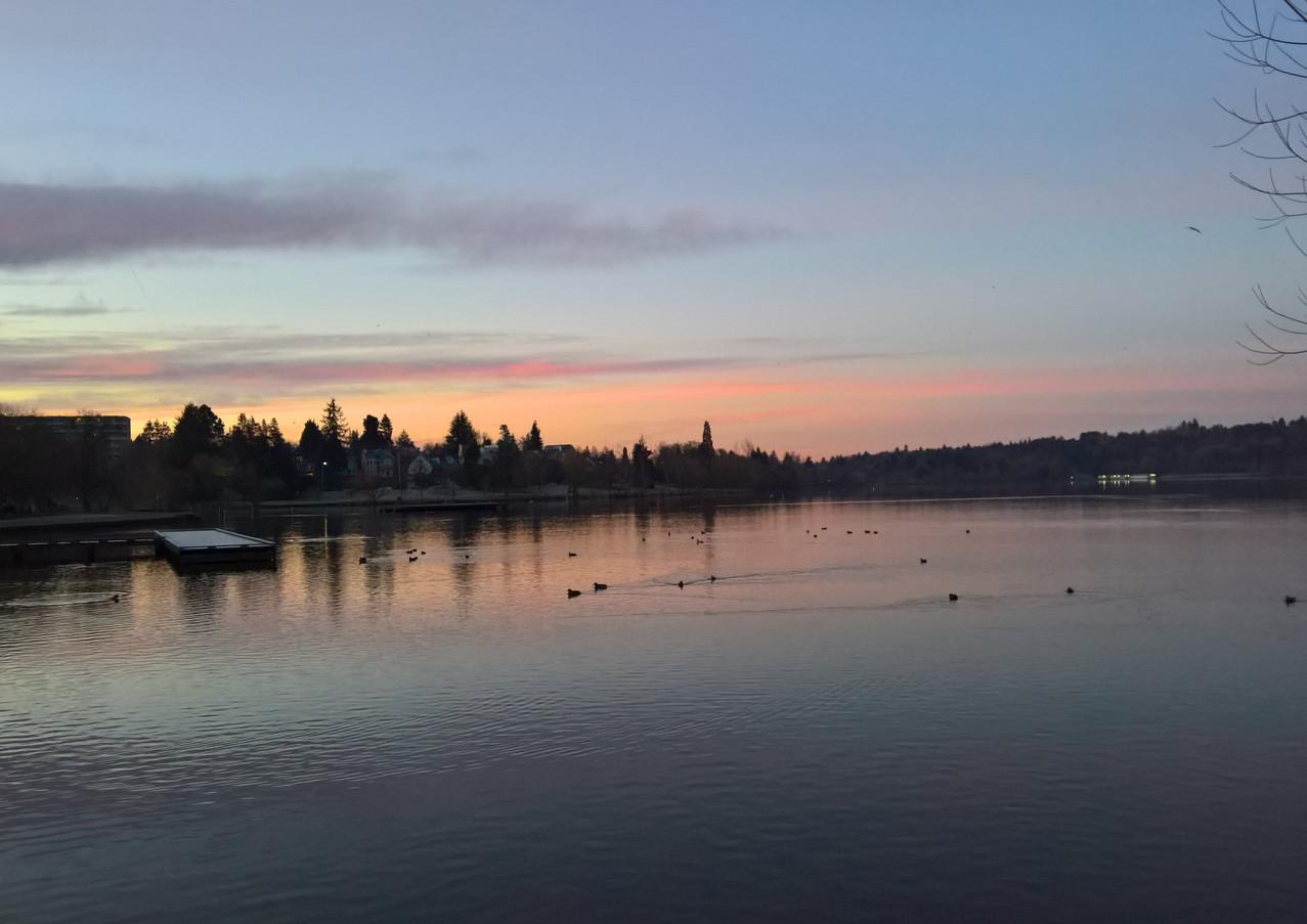 Greenlake Sunset