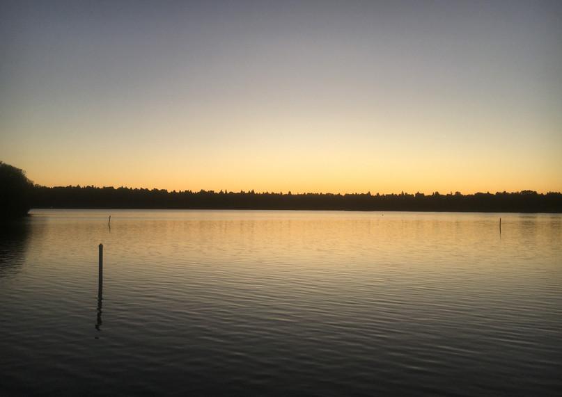 Greenlake at dusk Fall 2019