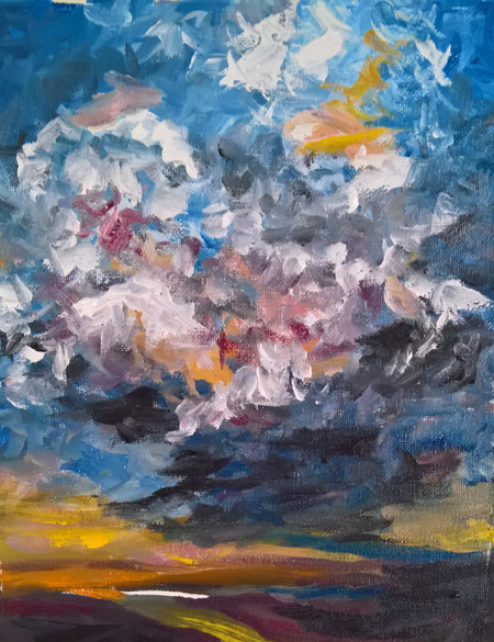 Movement in The Sky  $250  SOLD