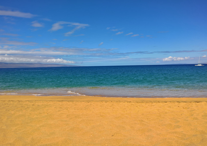 Kaanapali sand of gold