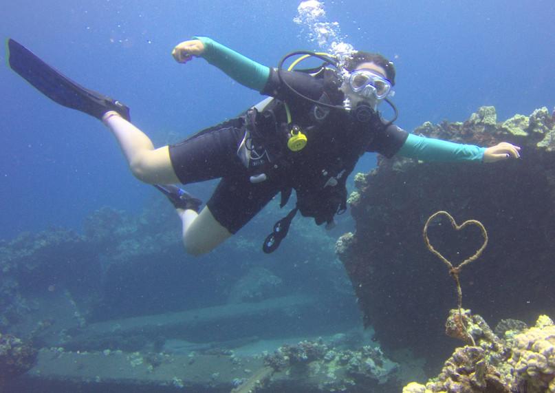 The Underwater heart Kaanapali