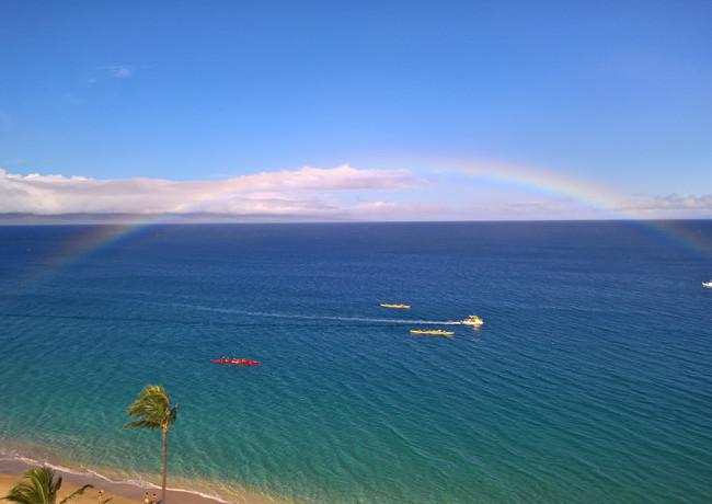 Kaanapali full rainbow