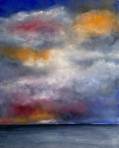 Storm Cessation, Oil on Canvas, 16x20 $800
