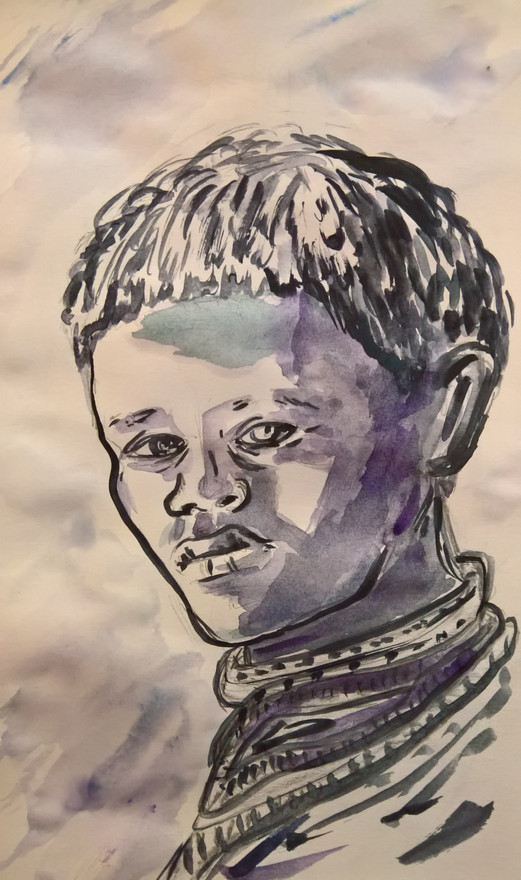 Sketch Young Man