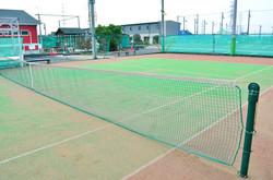 テニスコート緑×赤③