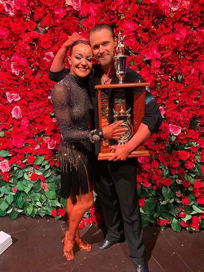 Anna and Siggi Professional Latin Australian Champions 2019