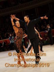 Anna and Siggi Latin Champions Adelaide