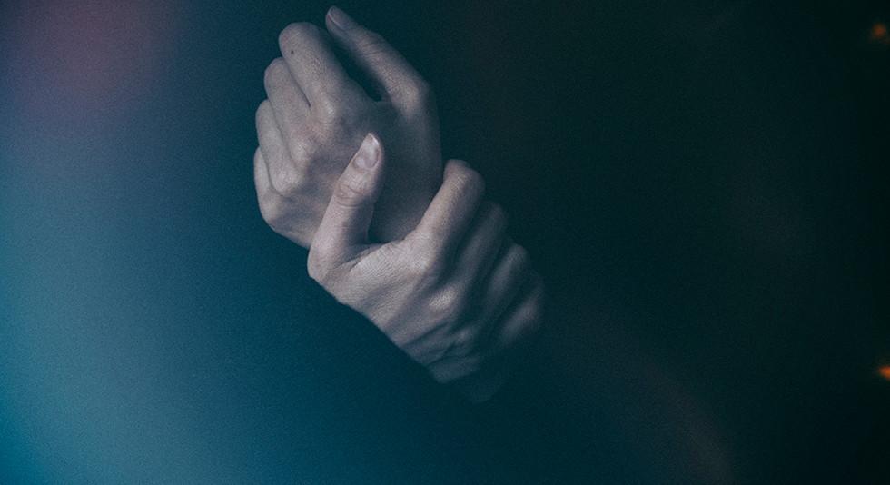 E no escuro, uma pele #1