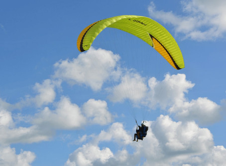 KAMSHET- paradise for paragliding lovers