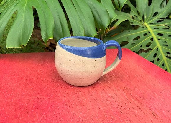 mug - dipped blue