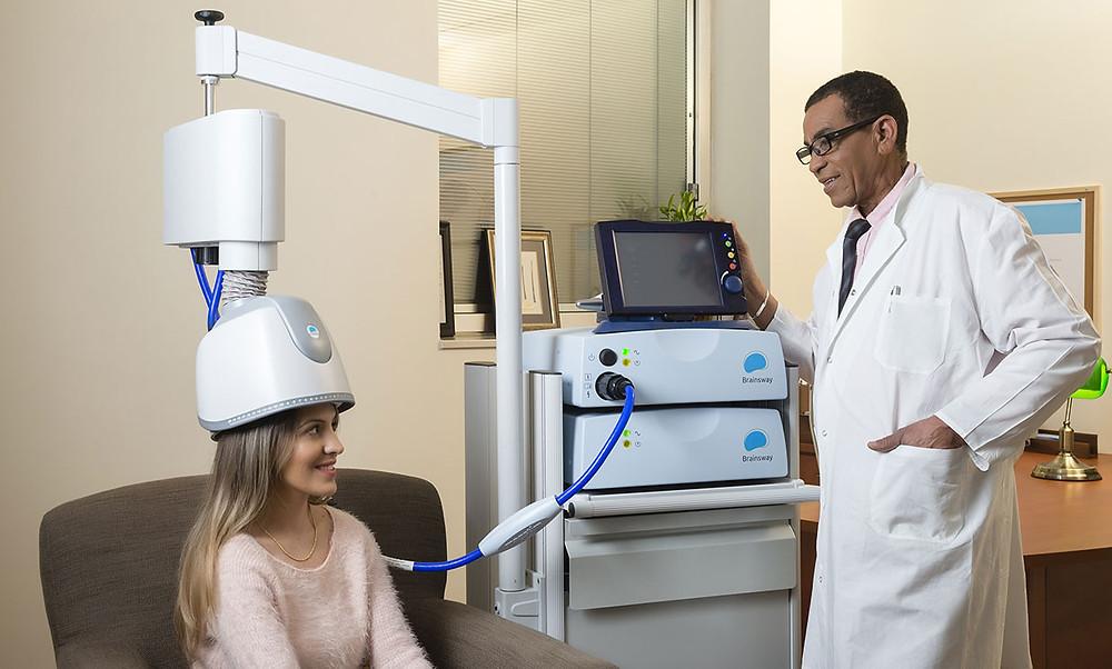Transcranial Magnetic Stimulation (TMS) Treatment