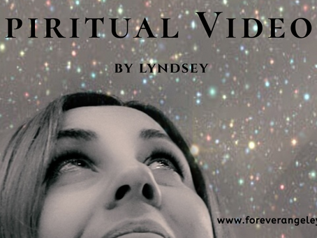 My Very Own Spiritual YouTube Channel....29.10.19